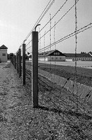 Dachau Concentration camp barbed wire fence