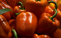orange bell peppers 1