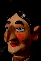 Antique hand puppets heads 57