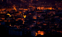 City of Salerno Italy at night 3