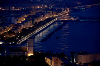City of Salerno Italy at night 2