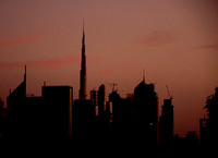 Burj Dubai (from 8 km away)
