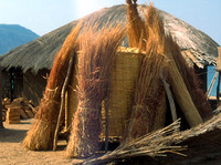 Traditional african hut and building supplies 1